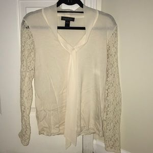 Formal lace top